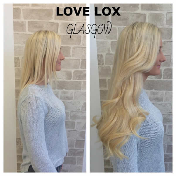 Lovelox Glasgow Hair Extensions Tape Extensions